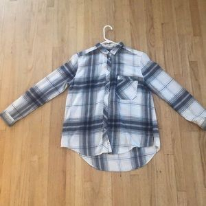 Checkered Long-Sleeve Flannel